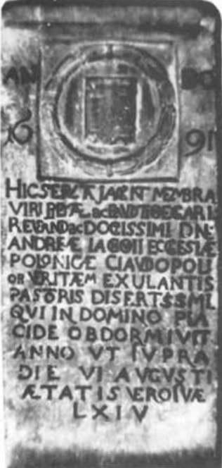 nagrobek Andrzej Lachowski