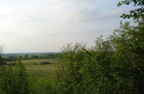Widok z gory na pola KOsinowa
